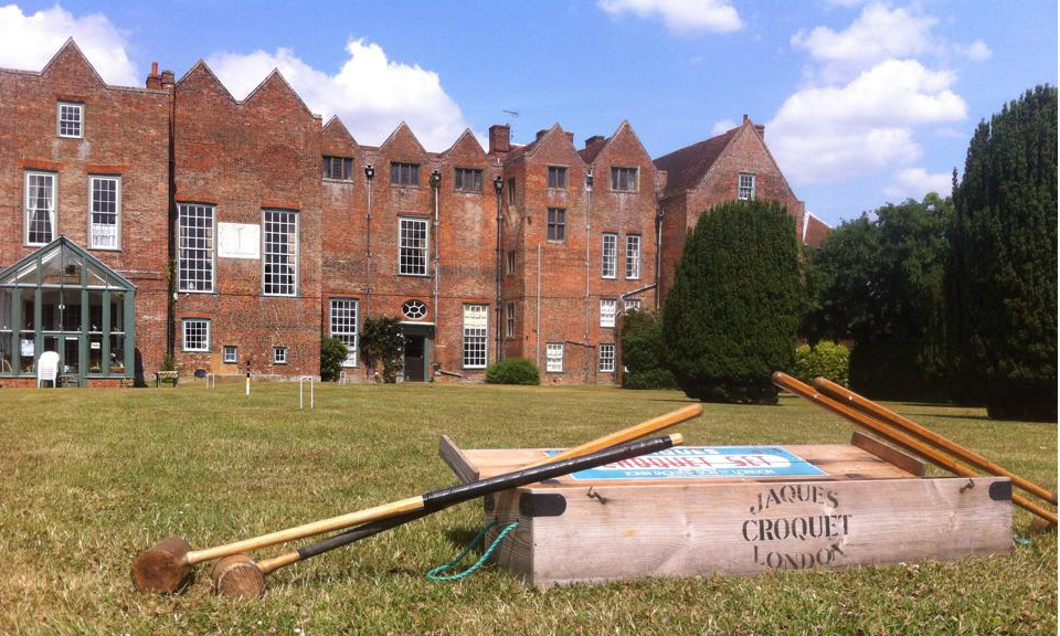 Glemham Hall croquet